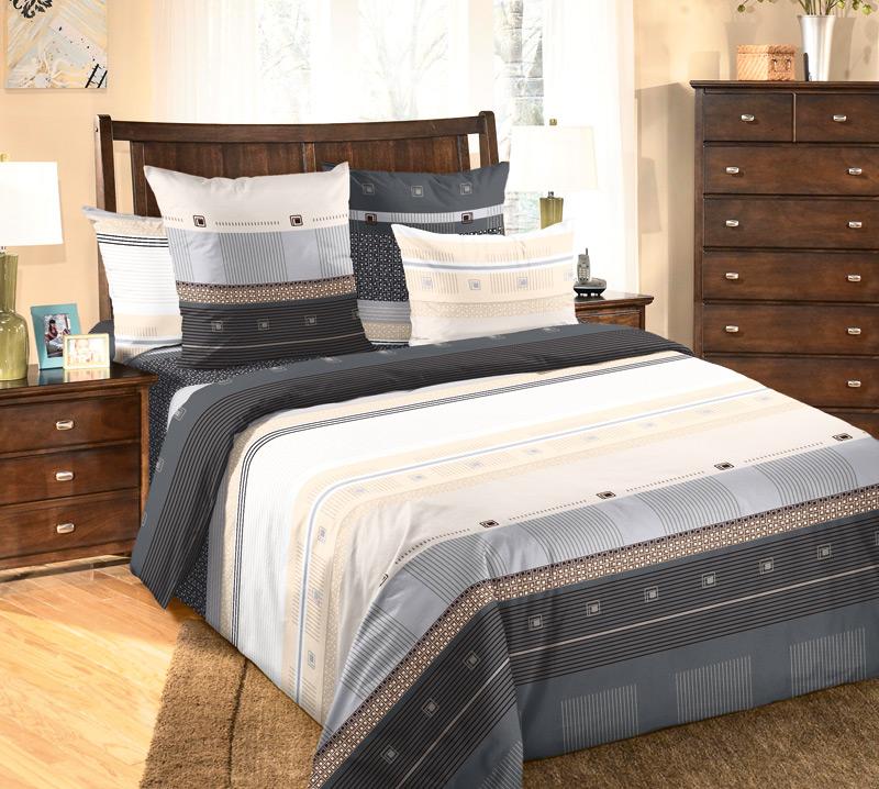 Комплект постельного белья МишельПеркаль<br><br><br>Размер: 1,5сп. (2 нав.70х70)