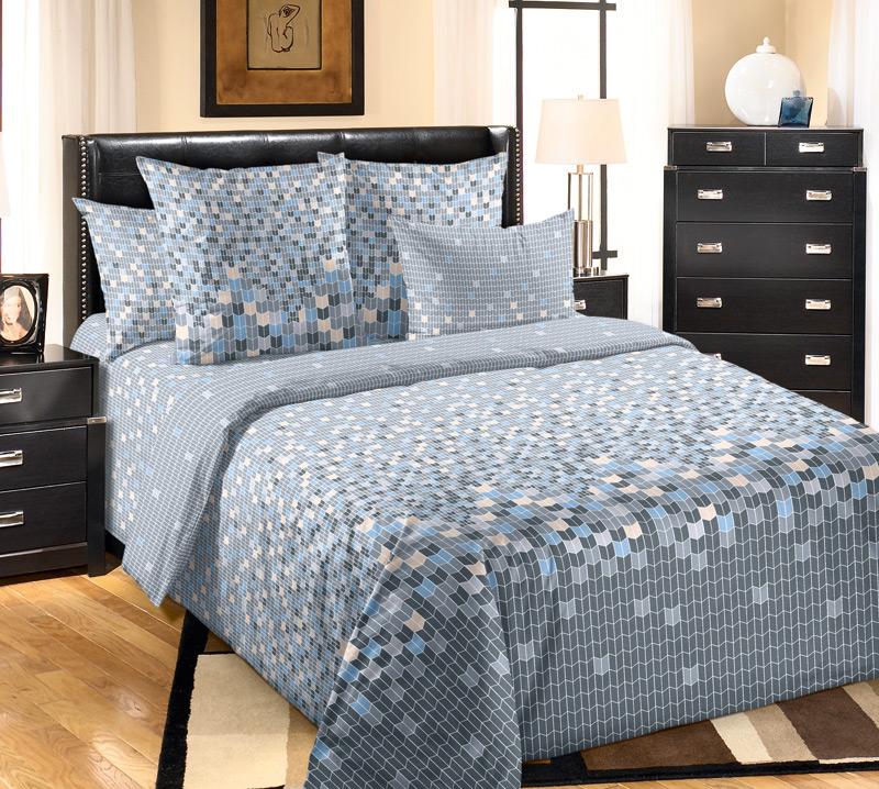 Комплект постельного белья МозайкаПеркаль<br><br><br>Размер: Семейный (2 нав. 70х70)