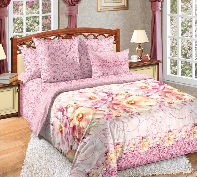 Комплект постельного белья НезнакомкаПеркаль<br><br><br>Размер: 1,5сп. (2 нав.70х70)