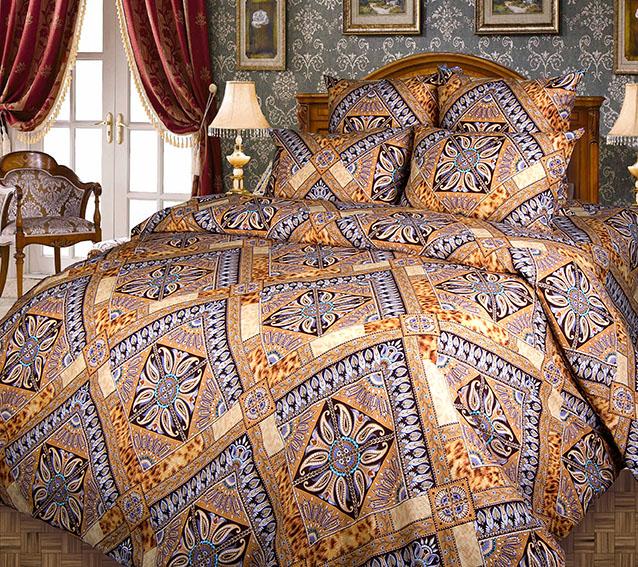 Комплект постельного белья ПерсияБязь<br><br><br>Размер: 2сп с европростыней (2 нав.70х70)