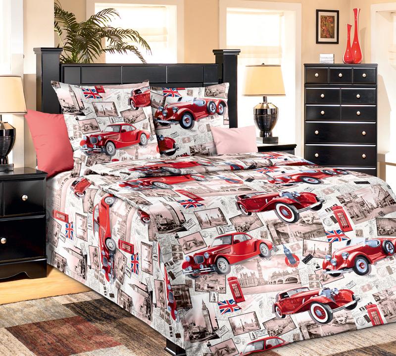 Комплект постельного белья РетроБязь<br><br><br>Размер: 1.5сп (2 нав.70х70)