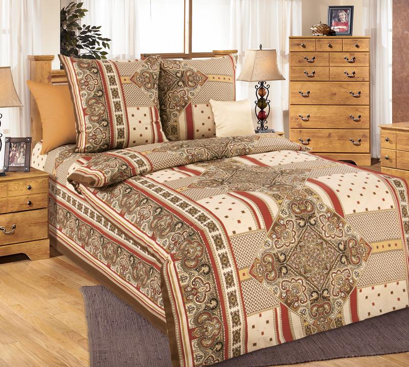 Комплект постельного белья ВизантияБязь<br><br><br>Размер: 1.5сп (2 нав.70х70)