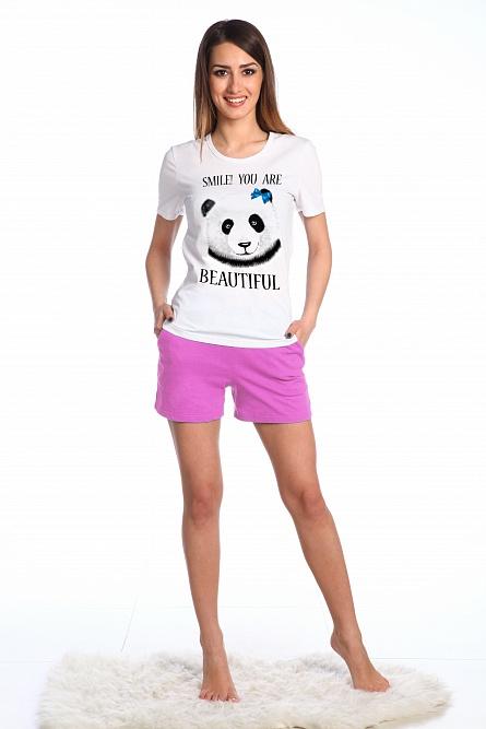 Комплект женский ПандаДомашние комплекты, костюмы<br><br><br>Размер: 42