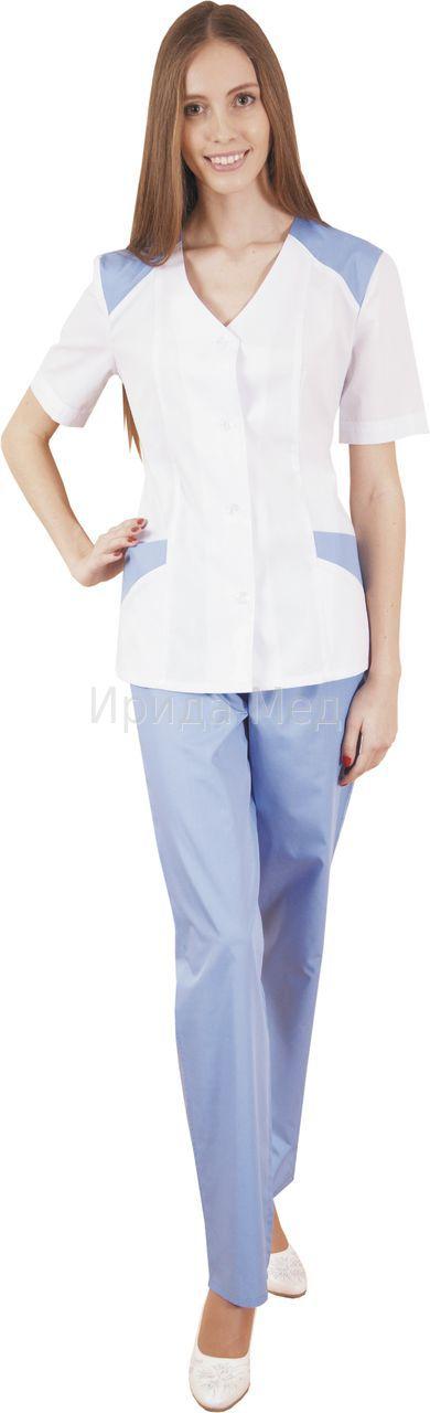 Костюм медицинский М-133 женскийКостюмы, кофты, брюки<br><br><br>Размер: 46