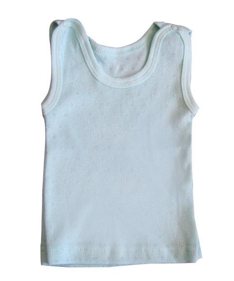Маечка (клепки на плече)Майки и футболки<br><br><br>Размер: 20 (рост 62)