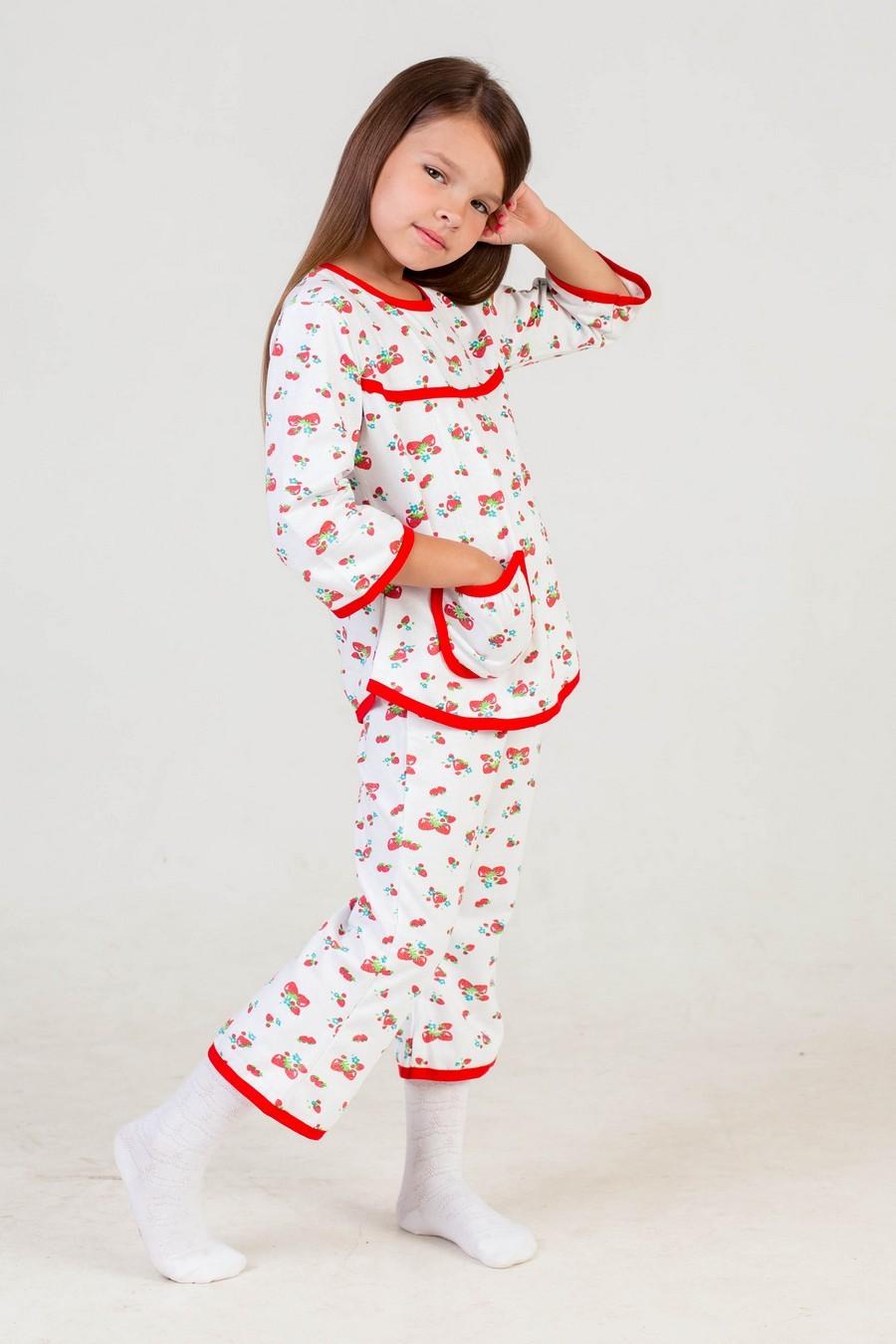 Пижама детская КатяХалаты и пижамы<br><br><br>Размер: белый