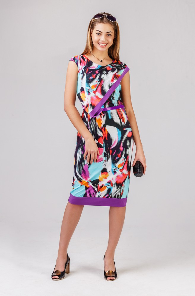 Платье женское ЭмоциональностьПлатья<br><br><br>Размер: 52
