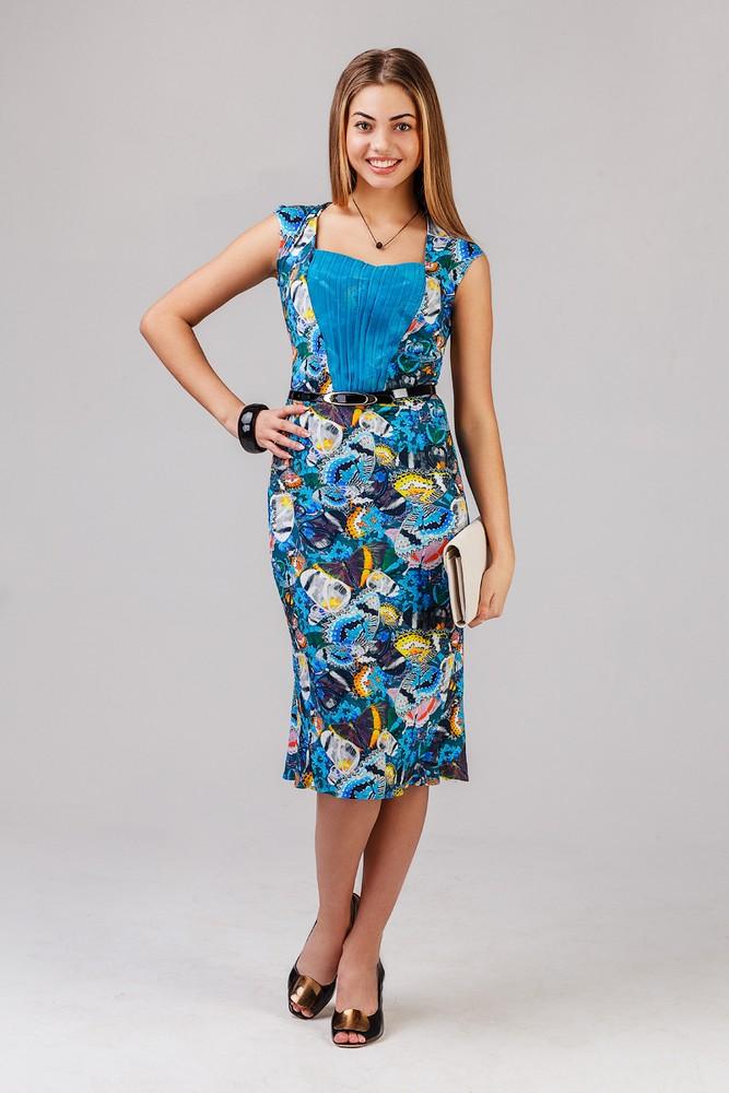 Платье женское ПорханиеПлатья<br><br><br>Размер: 54