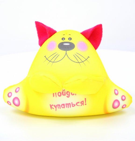 Антистрессовая подушка-игрушка  с котом2Аква крошкиПодарки на День рождения<br><br><br>Размер: 17х17