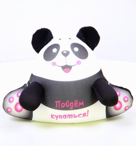 Антистрессовая подушка-игрушка Панда Аква крошкиПодарки на День рождения<br><br><br>Размер: 17х17
