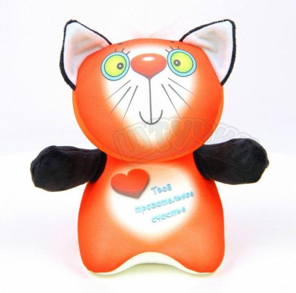 Антистрессовая подушка с котенком  КурносикиДетские подушки-антистресс<br><br><br>Размер: 24х20