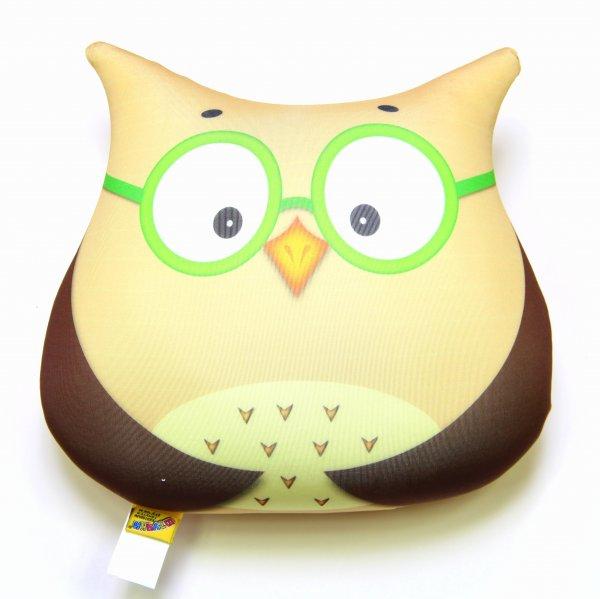 Антистрессовая игрушка-подушка Сова бол3Детские подушки-антистресс<br><br><br>Размер: 26х29