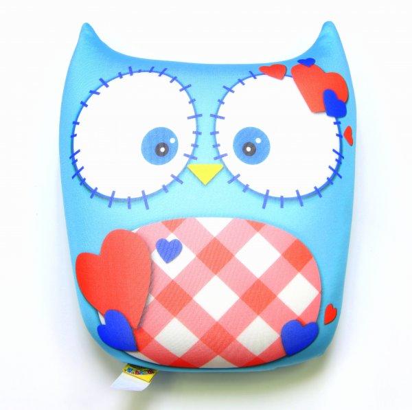 Антистрессовая игрушка-подушка Сова болДетские подушки-антистресс<br><br><br>Размер: 26х29