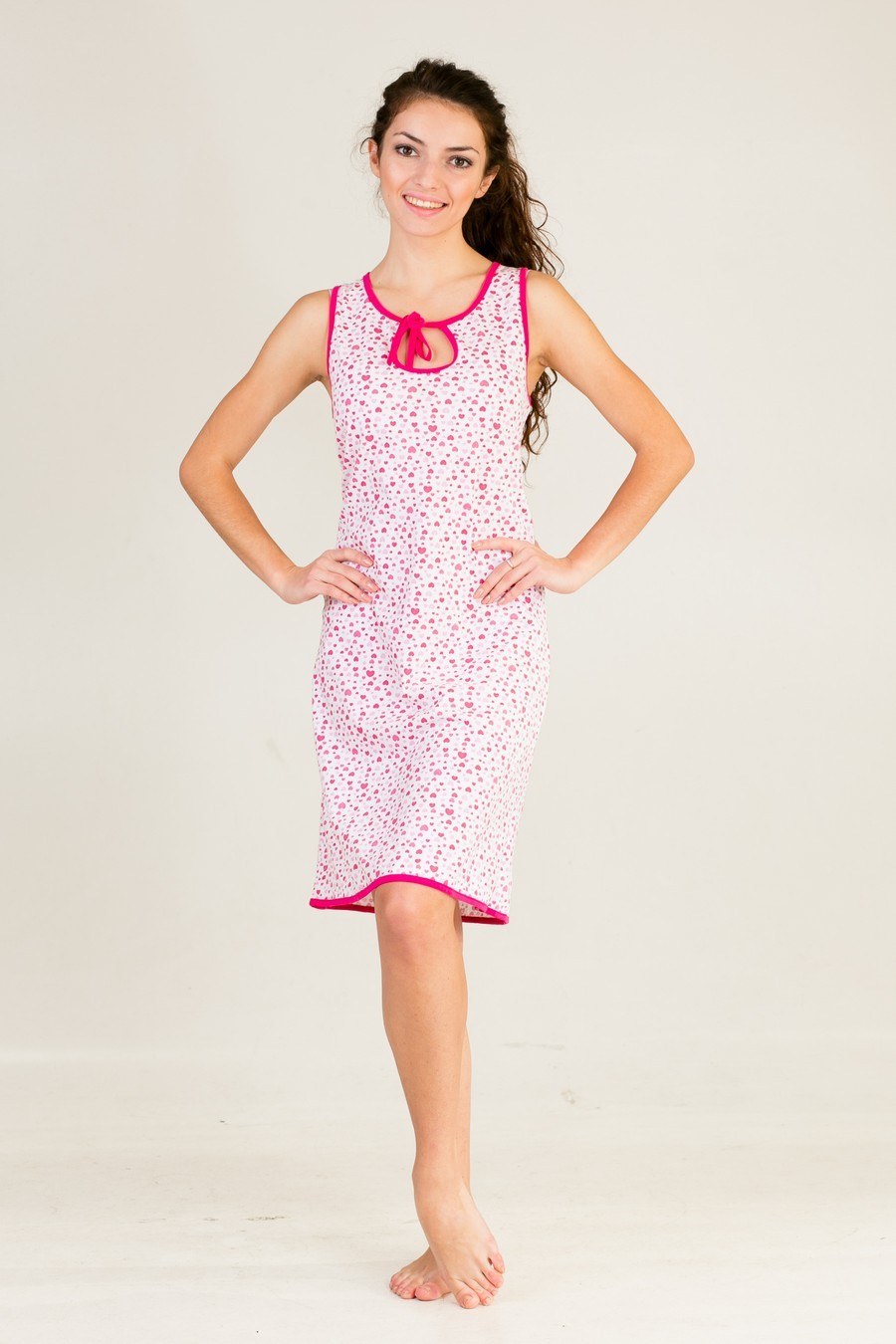 Сорочка женская Капля цвета в ассортиментеДомашняя одежда<br><br><br>Размер: 58