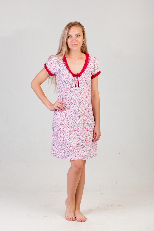 Сорочка женская МартаДомашняя одежда<br><br><br>Размер: 52