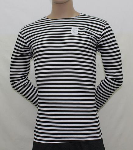 Тельняшка мужская полосатая чернаяДжемперы, свитеры, толстовки<br><br><br>Размер: 52