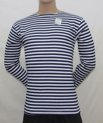 Тельняшка мужская полосатая синяяДжемперы, свитеры, толстовки<br><br><br>Размер: 52