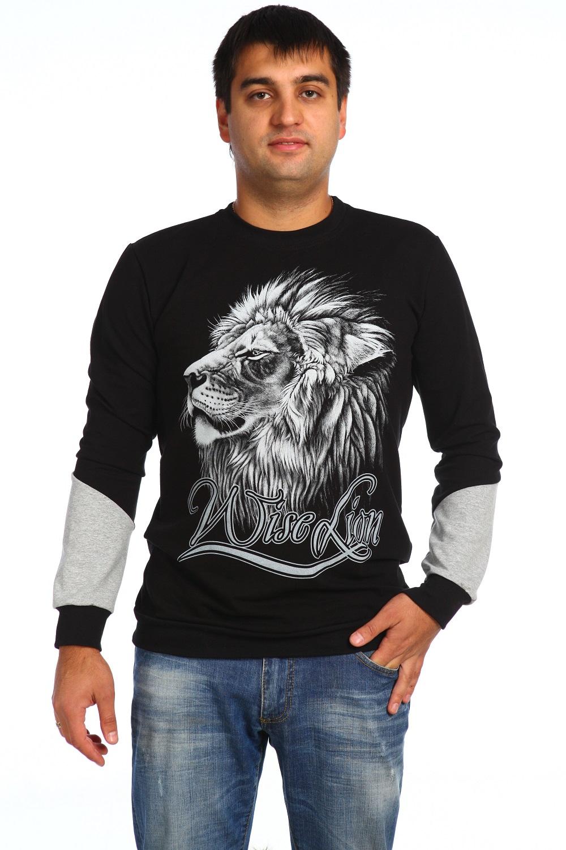 Толстовка мужская КингДжемперы, свитеры, толстовки<br><br><br>Размер: 48