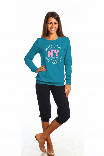Толстовка женская NYКофты, свитера, толстовки<br><br><br>Размер: 48