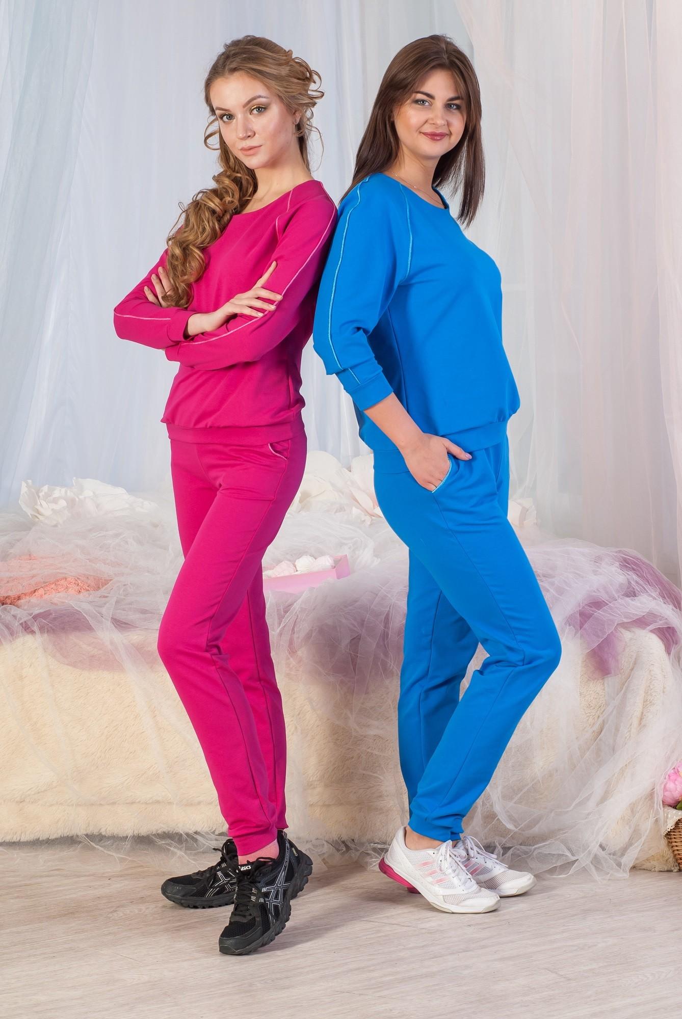 Костюм домашний женский Тренд толстовка и брюкиДомашние комплекты, костюмы<br><br><br>Размер: 50