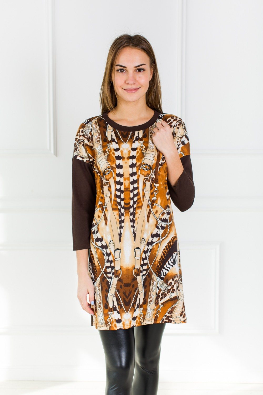 Платье женское Саманта с длинным рукавомПлатья<br><br><br>Размер: 50