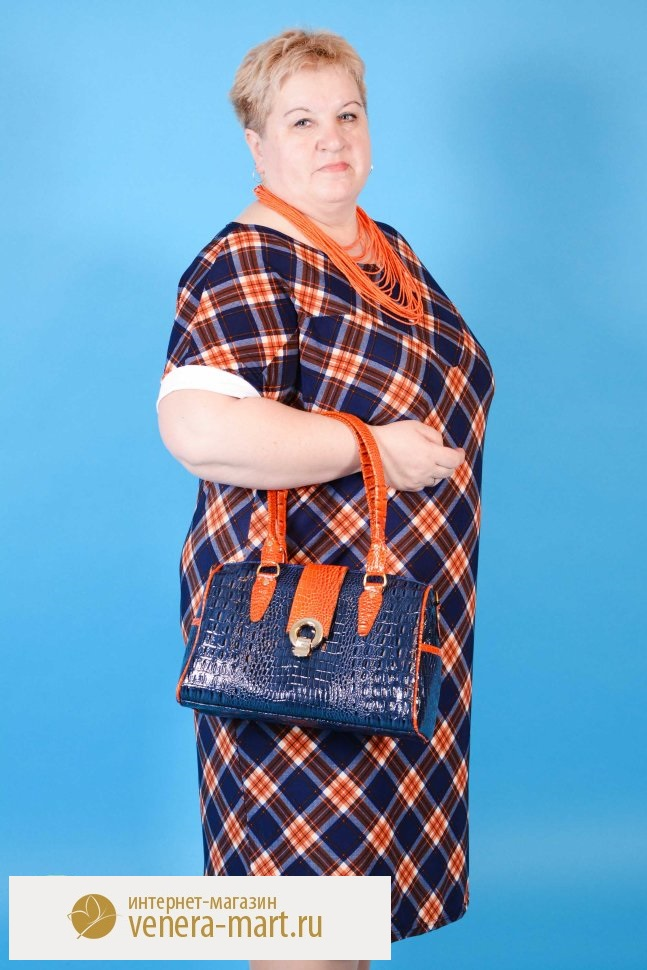 Платье женское Полетта с рукавом до локтяКоллекция ВЕСНА-ЛЕТО<br><br><br>Размер: 64