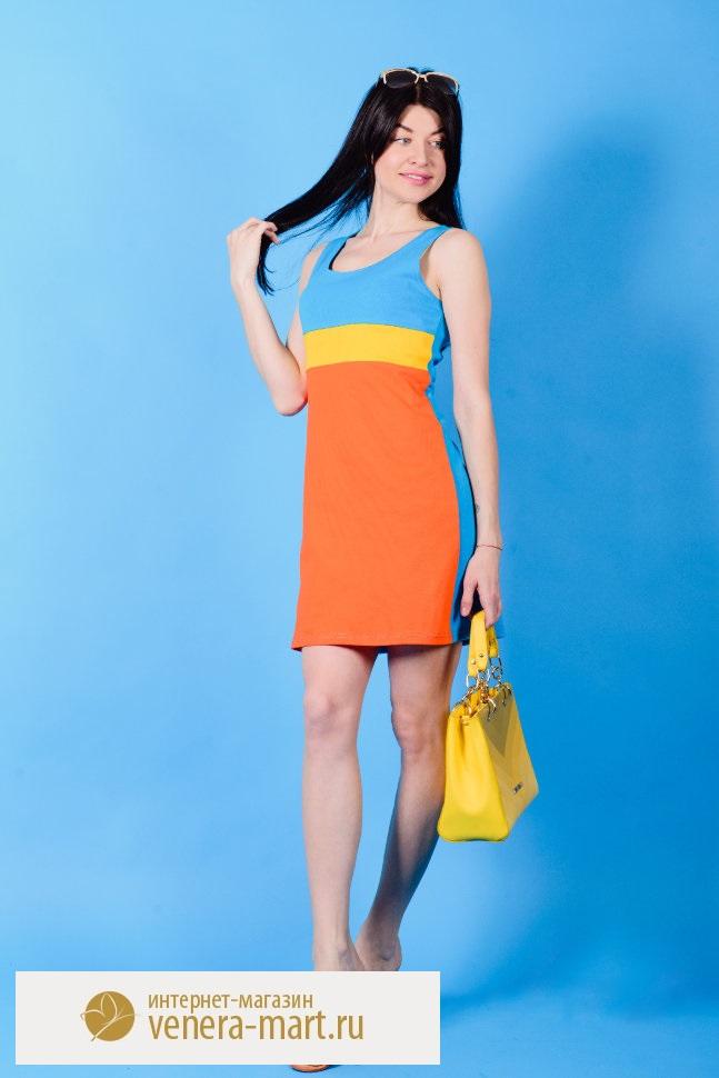 Платье женское Vita без рукаваПлатья<br><br><br>Размер: 44