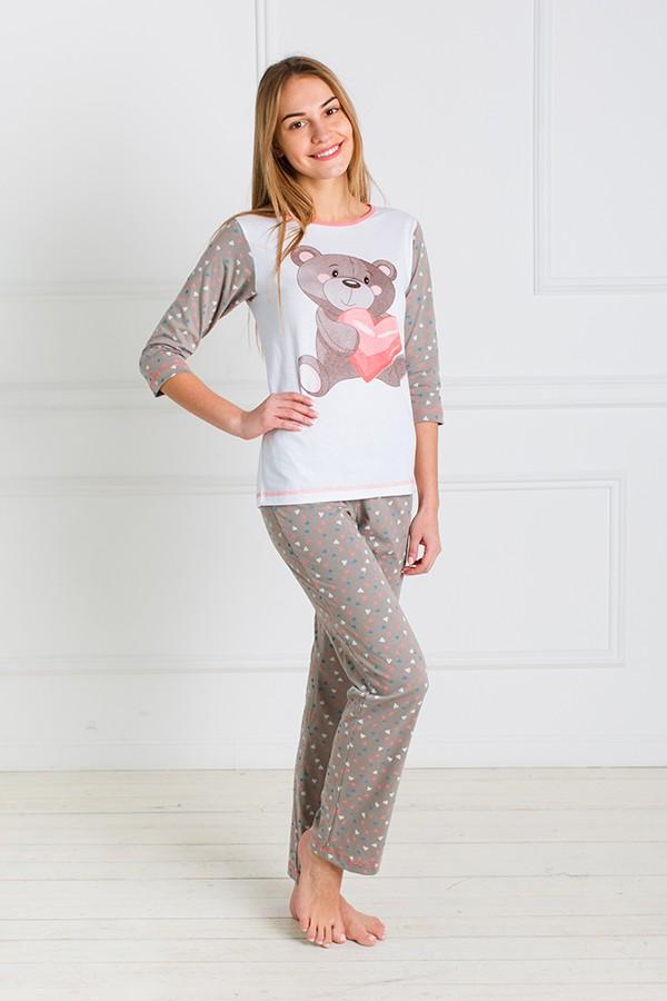 Пижама женская Винни футболка и брюкиПижамы<br><br><br>Размер: 44