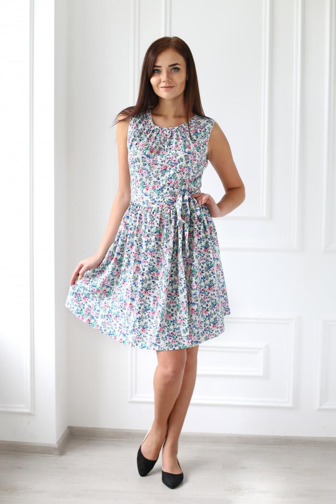 Платье женское Элли без рукаваПлатья<br><br><br>Размер: 42