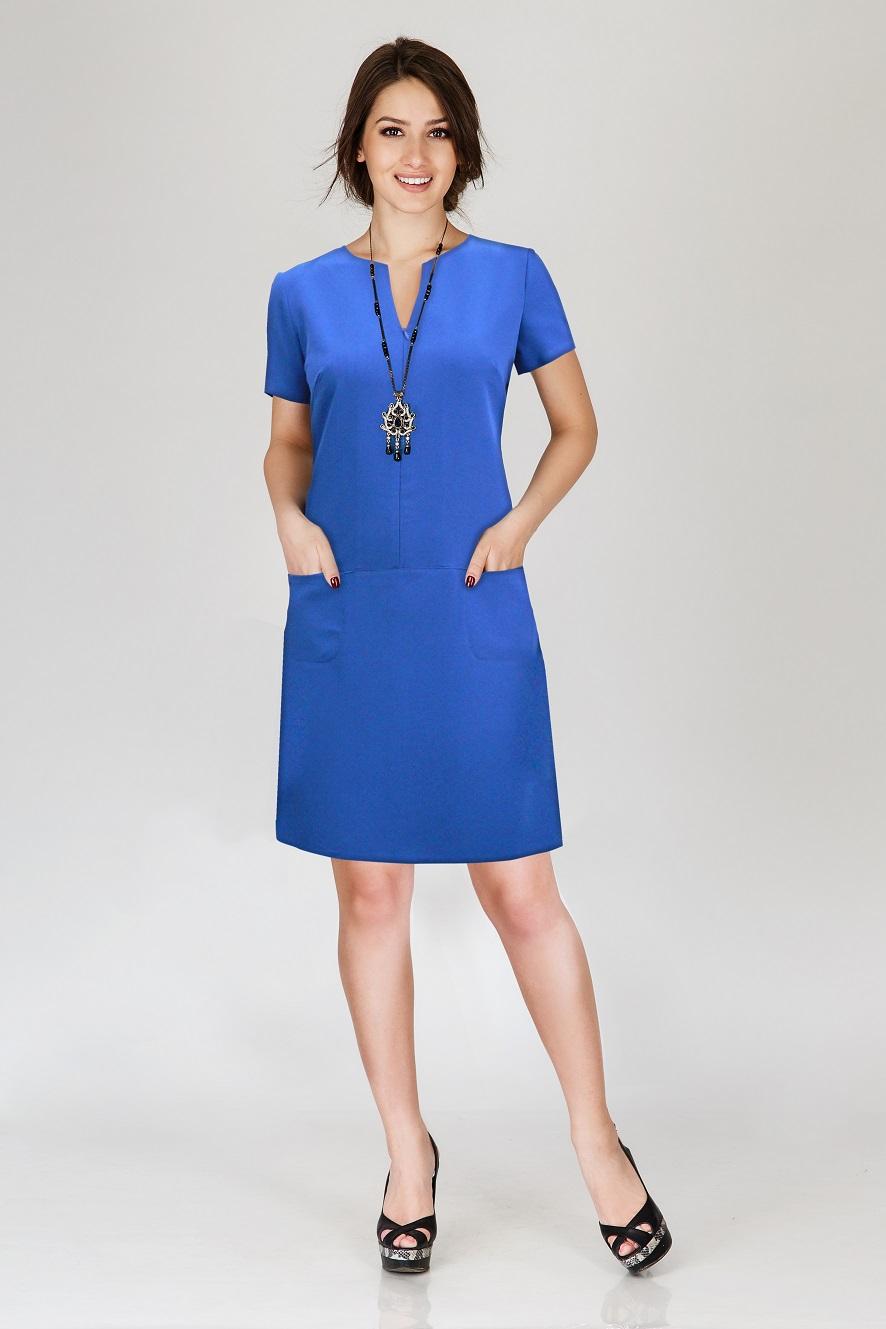 Платье женское Патти с карманамиПлатья<br><br><br>Размер: 44