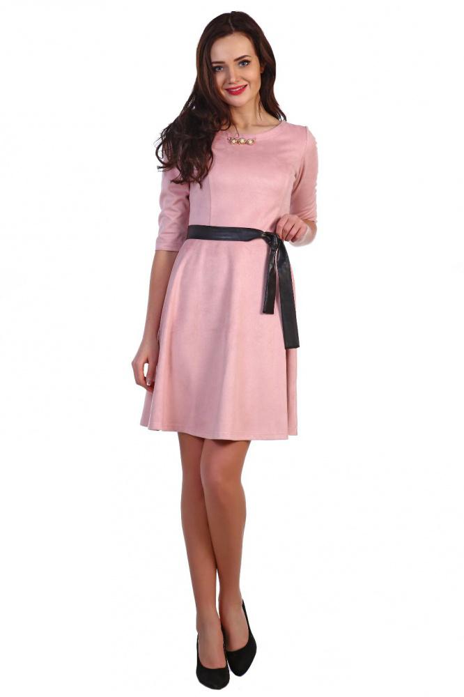 Платье женское Жаннет с рукавом 3/4Платья<br><br><br>Размер: 50
