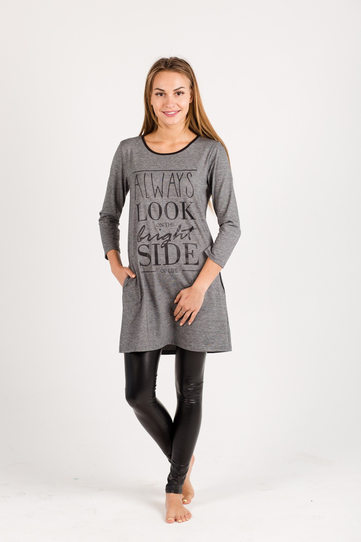Туника женская Хельга с карманамиТуники<br><br><br>Размер: 54