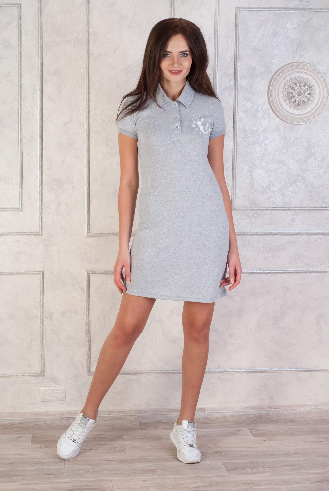 Платье женское Пати с коротким рукавомПлатья<br><br><br>Размер: 52