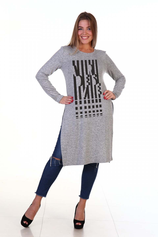 Туника женская Ширли с длинным рукавомТуники<br><br><br>Размер: 54