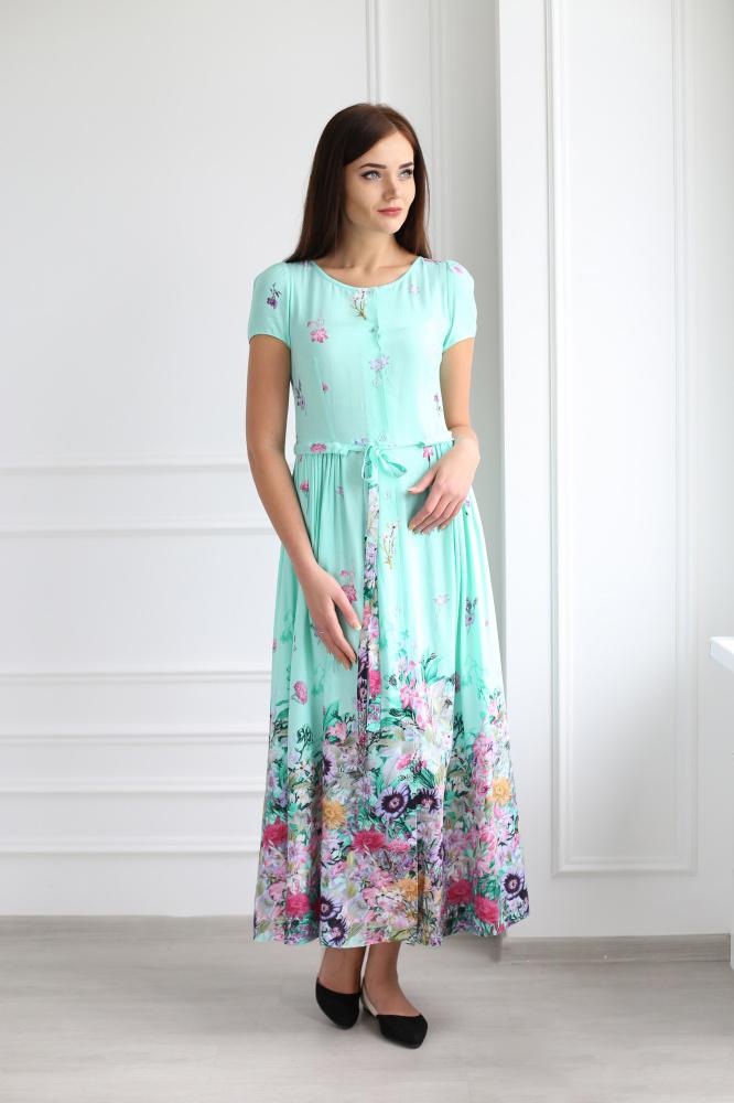 Платье женское Джейн с поясомПлатья<br><br><br>Размер: 56