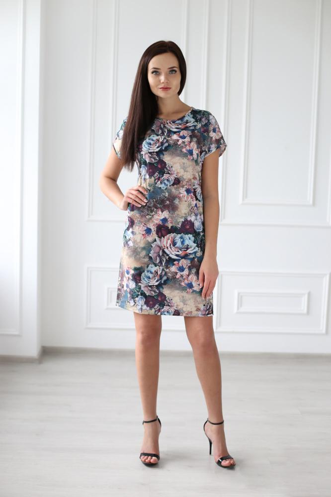 Платье женское Франческа из вискозыПлатья<br><br><br>Размер: 52