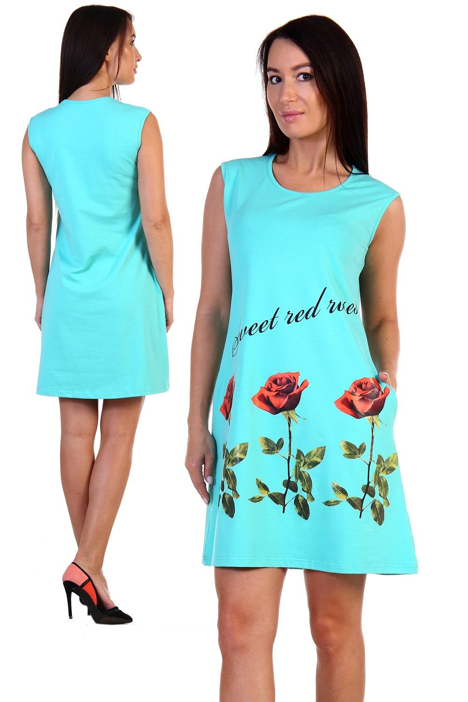 Платье из кулирки