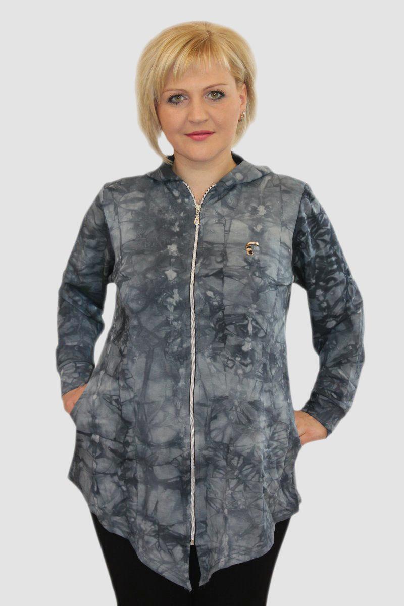 Кардиган женский Эльф с капюшономКофты, свитера, толстовки<br><br><br>Размер: 48