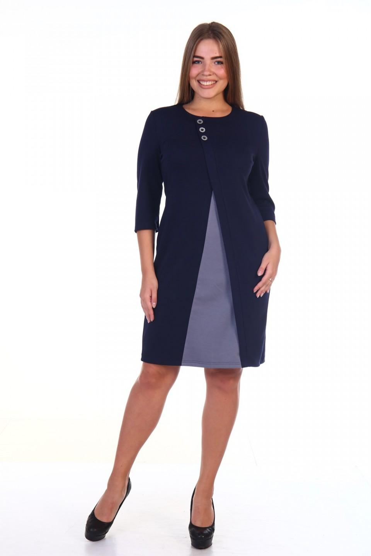 Платье женское Лиссе с рукавом 3/4Платья<br><br><br>Размер: 50