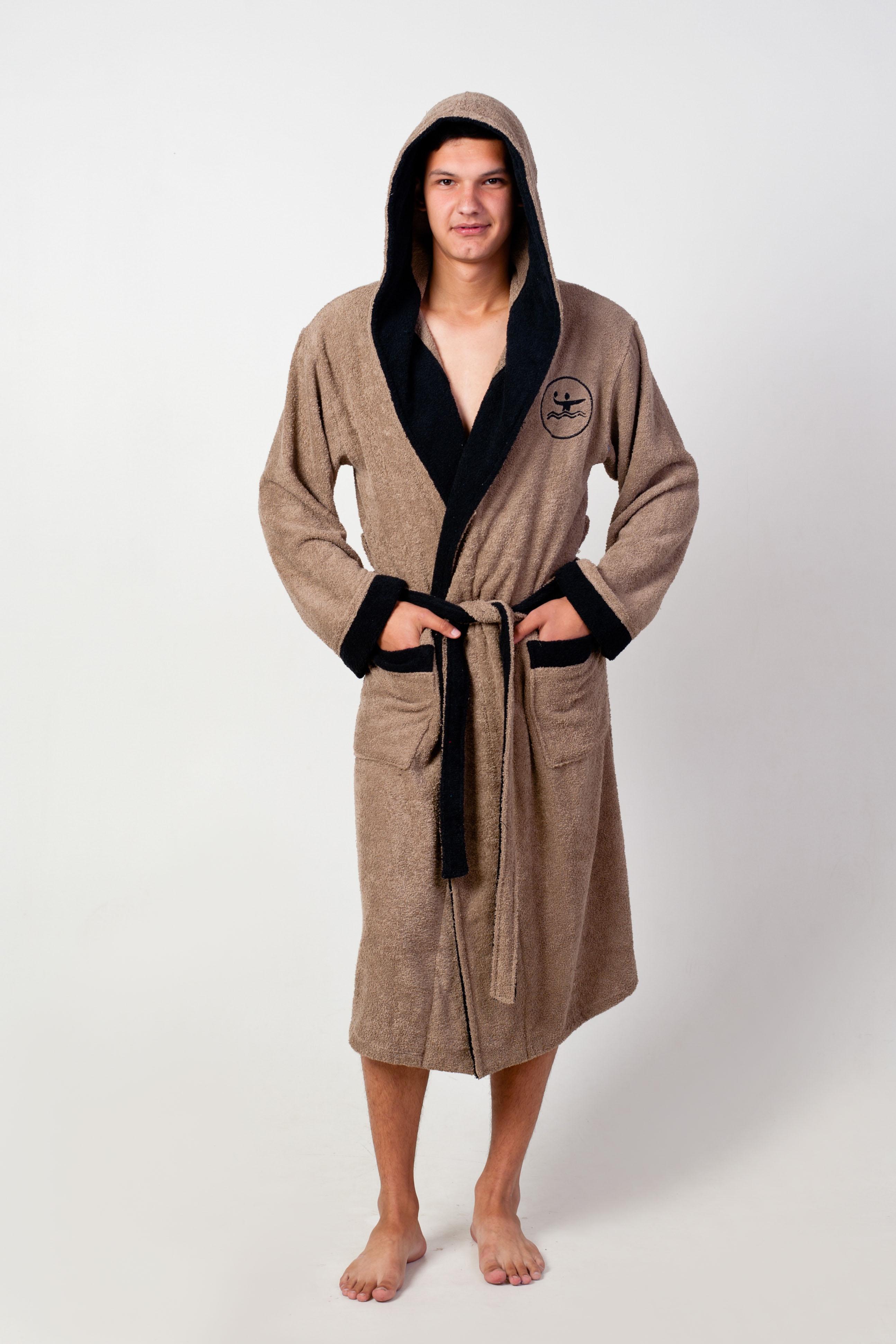 Халат мужской Пловец запашнойМужские халаты<br><br><br>Размер: 56