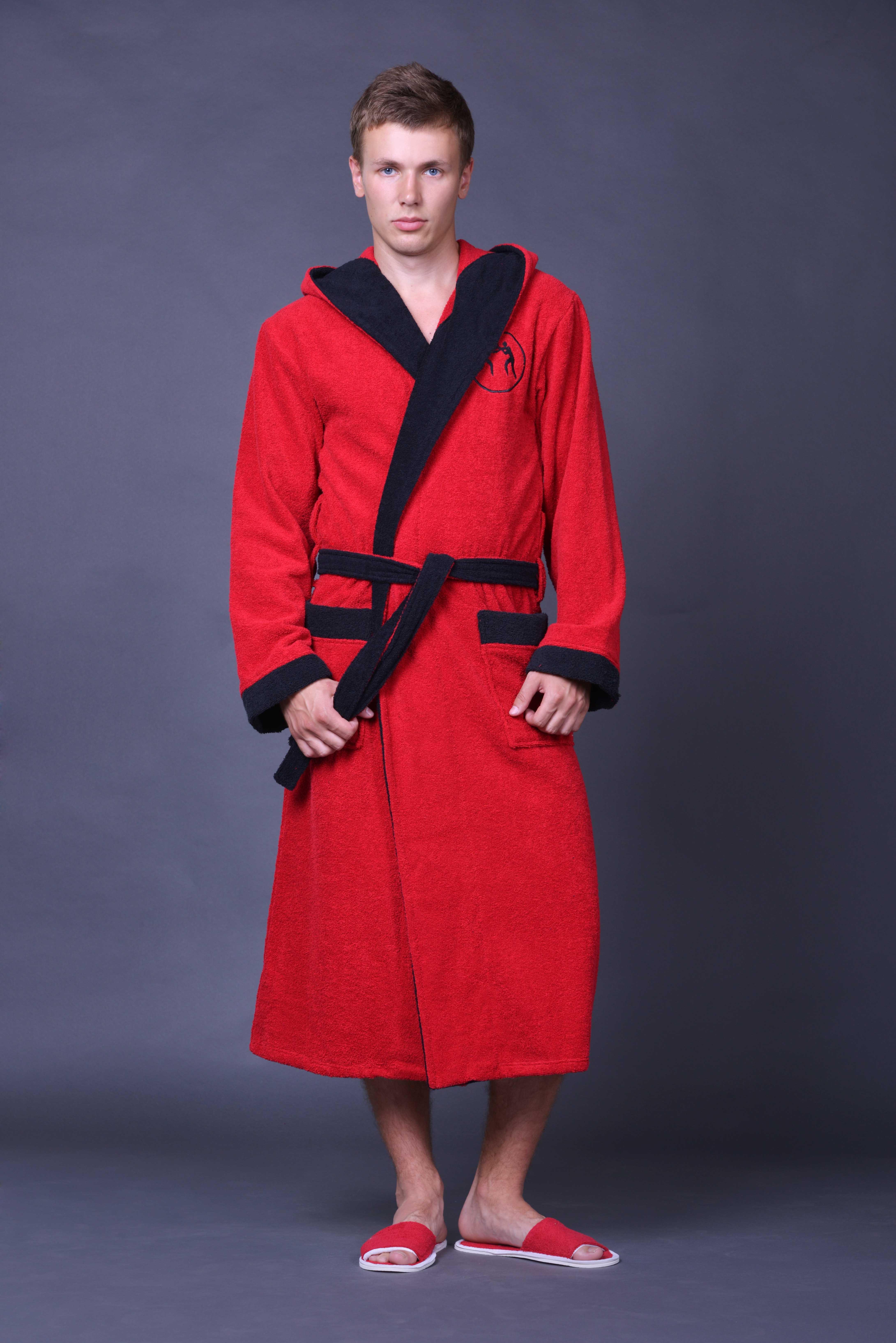 Халат мужской Борец запашнойМужские халаты<br><br><br>Размер: 46