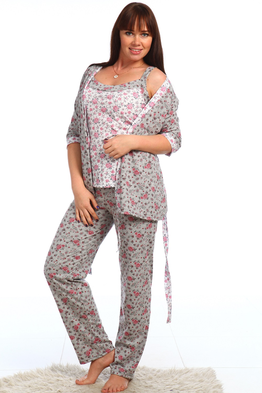 Костюм женский Унисон тройкаДомашние комплекты, костюмы<br><br><br>Размер: 44