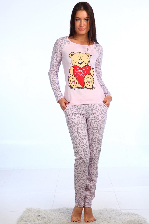 Пижама женская Бонни блуза и брюкиПижамы<br><br><br>Размер: 48