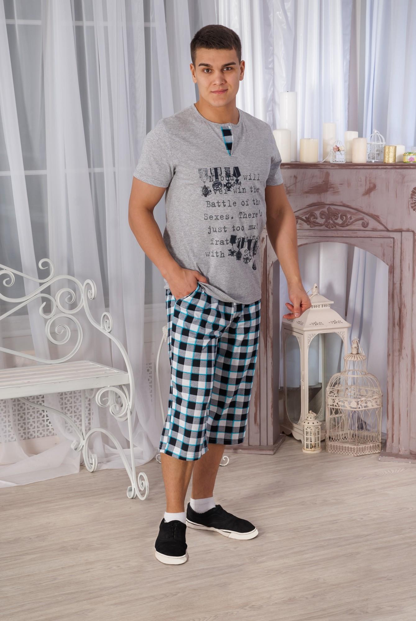 Костюм мужской КМ-1 футболка + шортыКоллекция ВЕСНА-ЛЕТО<br><br><br>Размер: 56