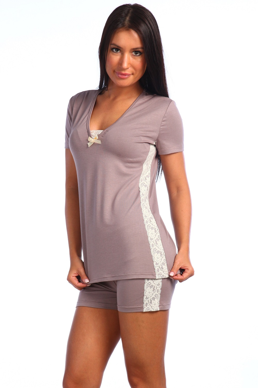 Пижама женская Нимфа футболка +шортыПижамы<br><br><br>Размер: 50