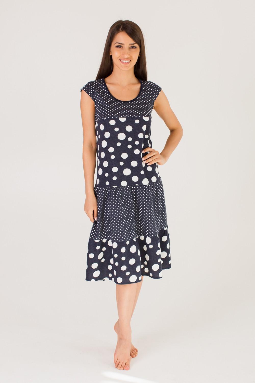 Платье женское Верона с коротким рукавомПлатья<br><br><br>Размер: 44
