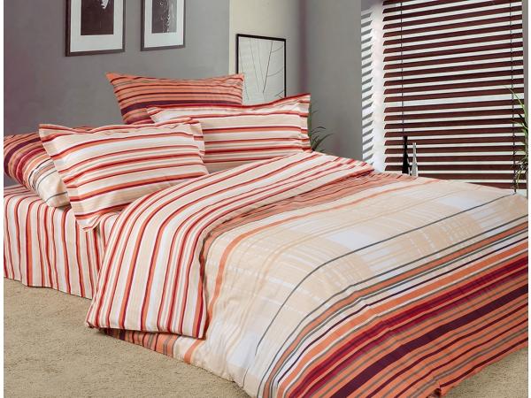 Рико бордо - комплект постельного белья из поплинаПоплин<br><br><br>Размер: 2 спальный с простыней (200х220)