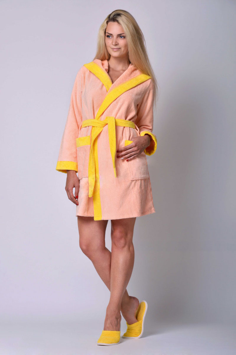 Халат женский для ванной Аннет 2Подарки к 8 марта<br><br><br>Размер: Розовый