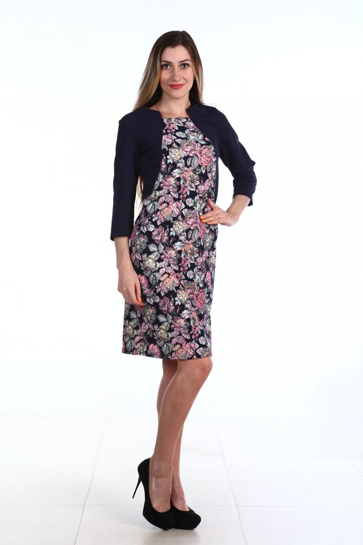Платье женское РозыПлатья и сарафаны<br><br><br>Размер: 46