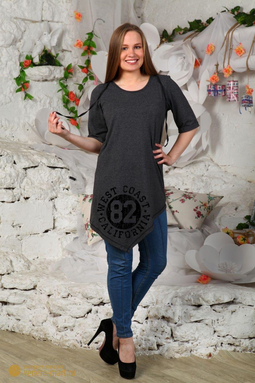 Туника женская CaliforniaТуники, рубашки и блузы<br><br><br>Размер: 46
